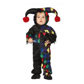 Disfraz bebe arlequin