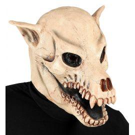 Mascara calavera de perro