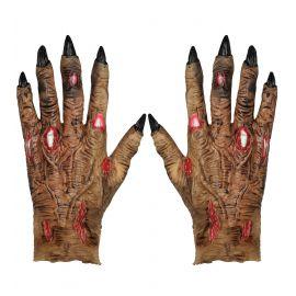 Guantes manos de zombie