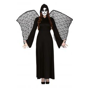 Disfraz la muerte con alas ad