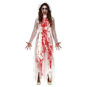Disfraz novia vestido sangriento ad