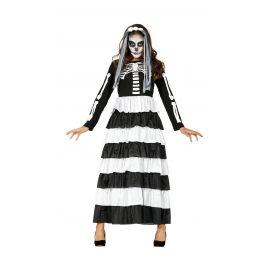 Disfraz novia esqueleto ad