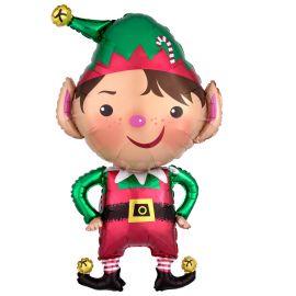 Globo helio elfo navidad