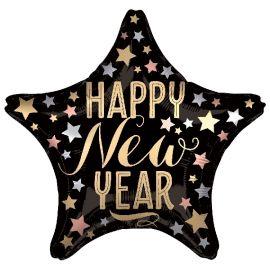 Globo helio feliz año deluxe
