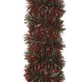 Espumillon boa verde y rojo 1,70m