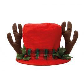 Sombrero rojo reno