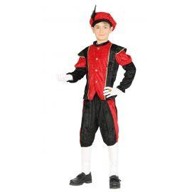 Disfraz paje rojo inf