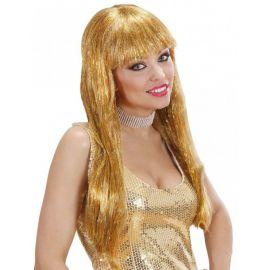 Peluca dorada glamour