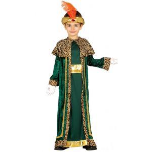 Disfraz rey mago verde gu