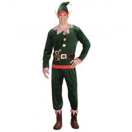 Disfraz elfo terciopelo adt