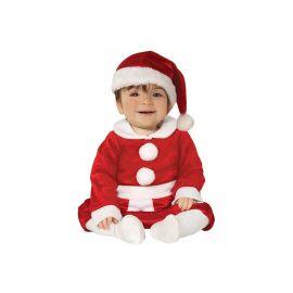 Disfraz bebé Mamá Noel 1-2 años