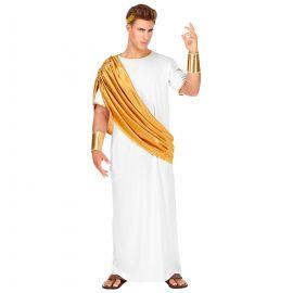 Disfraz cesar dorado
