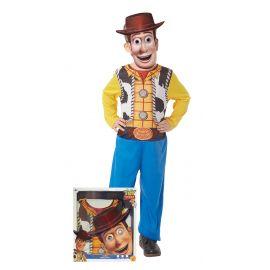 Disfraz woody caja con mascara