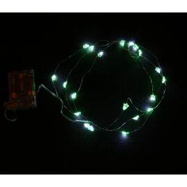 Luces led verdes arbol 2m