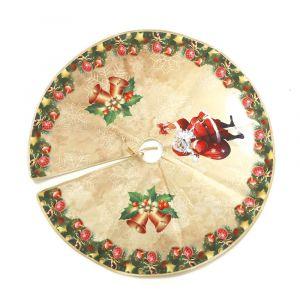 Pie de arbol decorado navidad 70cm
