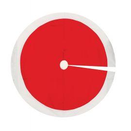 Pie de arbol grande rojo 120cm