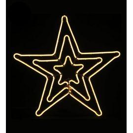 Silueta estrella luz