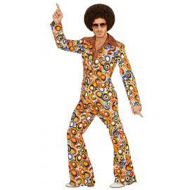 Disfraz traje años 70 hombre