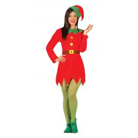 Disfraz elfa con sombrero