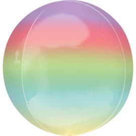 Globo helio esfera degradada