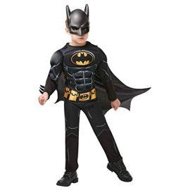 Disfraz batman deluxe negro inf