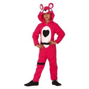 Disfraz oso rosa inf