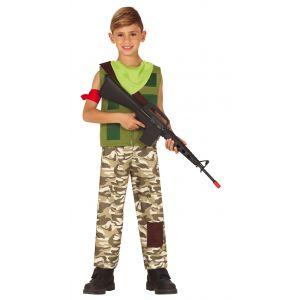 Disfraz mercenario gamer inf