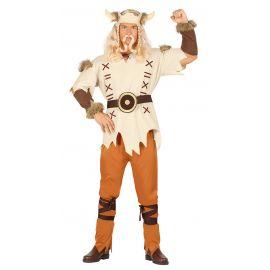 Disfraz vikingo blanco ad