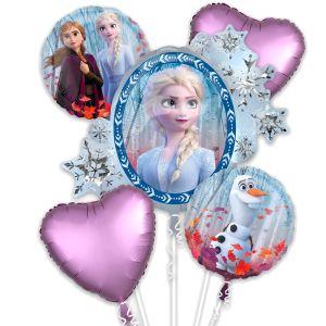 Bouquet globos frozen 2