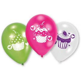 Globos cupcake 6 und