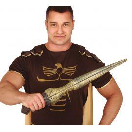 Espada espartano oro 65 cms