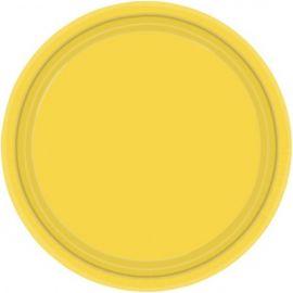 Platos 22,8cm amarillo
