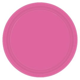Platos 22,8cm rosa chicle