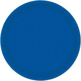Platos 22,8cm azul royal