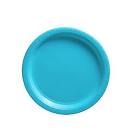 Platos 22,8 cm azul caribe