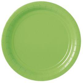 Platos 22,8cm verde lima