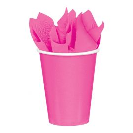 Vasos 266ml rosa chicle