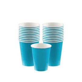 Vasos 266ml azul caribe