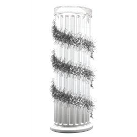 Espumillon espiral plata 1,8m