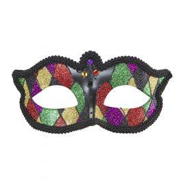 Mascara arlequin glitter