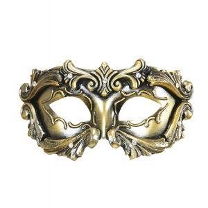 Antifaz barroco bronce