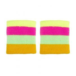 Muñequeras multicolor
