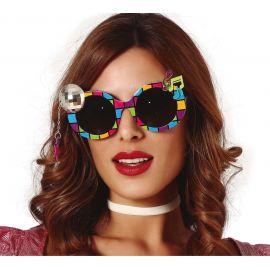 Gafas bola discoteca