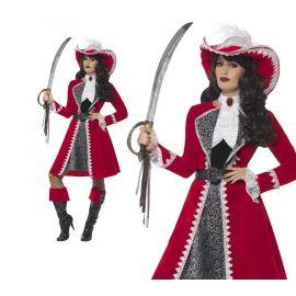 Disfraz lady pirata deluxe