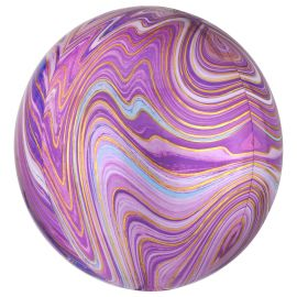 Globo helio esfera marmol rosa