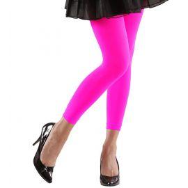 Leggings fluor rosas