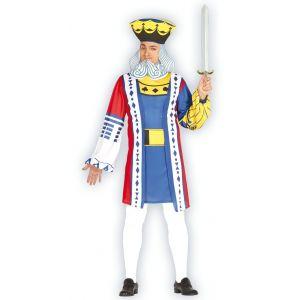 Disfraz rey de cartas ad