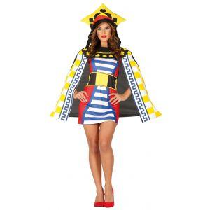 Disfraz reina de cartas ad