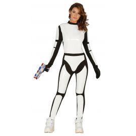 Disfraz soldado espacial mujer