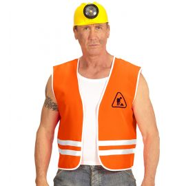 Chaleco obrero naranja ad